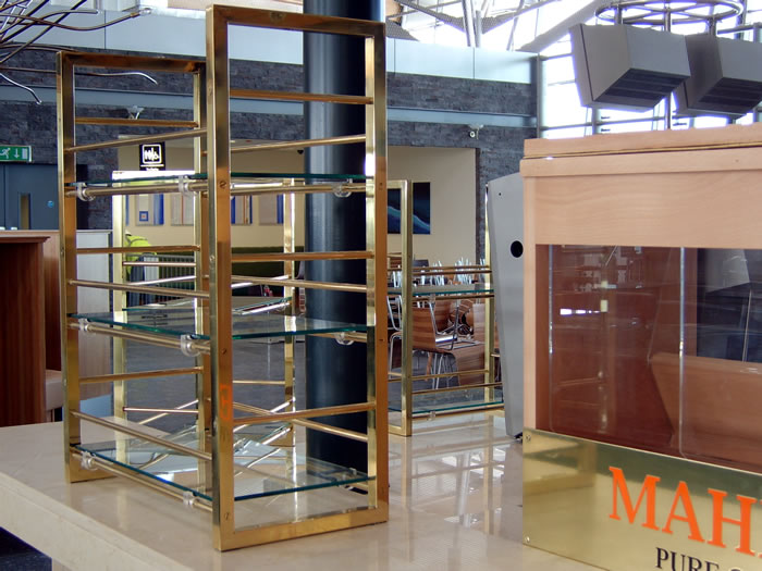 Fabrication services for commercial spaces at MQ Metalworks